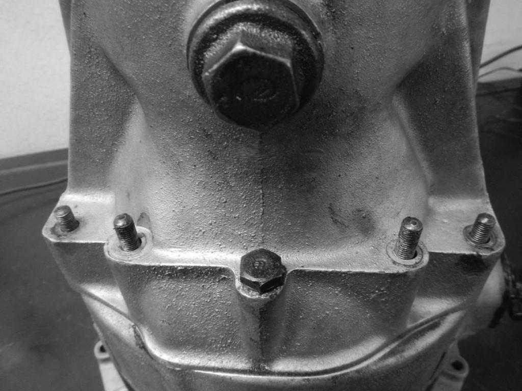 Ölablass für Differenzialgehäuse