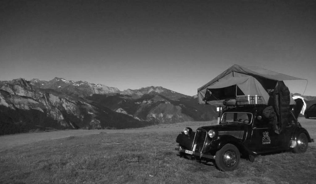 Diverse Lösungen für Traction-Camper